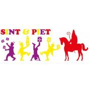 Sint en Piet raamstickers decoratie