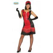 Charleston jurk rood voordelig