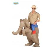 Opblaasbare olifanten kostuum