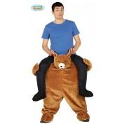 gedragen door beer kostuum