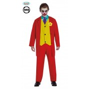 Joker kostuum Rood mr Smile