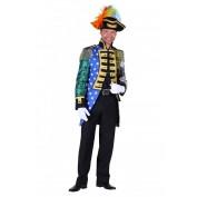 Admiraalsjas patchwork mix van kleuren
