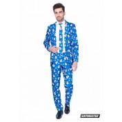 Blue Snowman Kerstkostuum