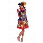 Carnavalsjas Celebration Dames Luxe gevoerd