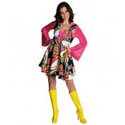 Fantasy disco jurk Pink