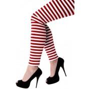 rood wit gestreepte legging