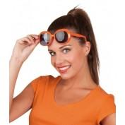 oranje dames bril