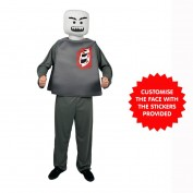 LEGO zombie BLockhead kostuum