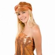 oranje glitterpet