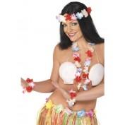 Hawaiiset bloemen kleurig