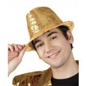 gouden popstar hoedje