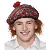 Schotse hoed met haar
