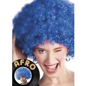 Afropruik blauw