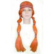 oranje indianenpruik