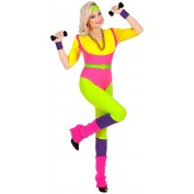 80's Aerobics Instructrice Kostuum