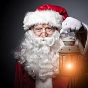 Kerstman Santa Baardstel