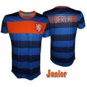 Nederland Shirt kinderen blauw