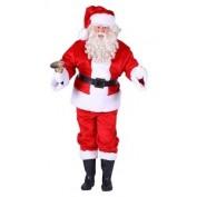 Pluche Kerstman kostuum
