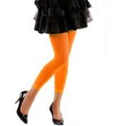 legging fluor oranje