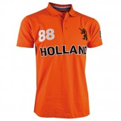 oranje holland polo