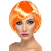oranje korte pruik