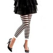 legging zwart wit