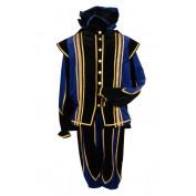 Pietenpak Toledo Blauw Zwart