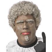 Piet Pruik Grijs Opa Piet