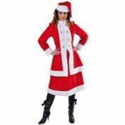 Kerstvrouw kostuum Russisch