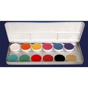 Schminkpalet Kryolan 12 kleuren