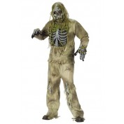 Skelet Zombie kostuum