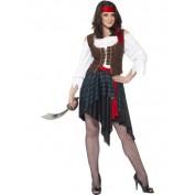 Piraat kostuum dame AANBIEDING