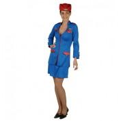 stewardess pakje kobalt