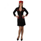 stewardess pakje zwart