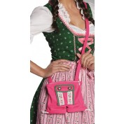 Tiroler Tasje Dames Lederhose Pink