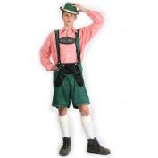 Tiroler broek groen