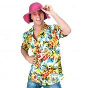 tropical blouse multicolor