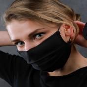 Mondmasker zwart fashion
