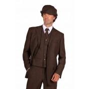 Peaky Blinders colbert luxe bruin
