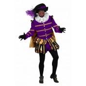 Zwarte Piet heer Albufeira zwart-paars