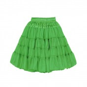 Petticoat groen deluxe 2 laags