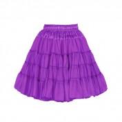Petticoat paars de luxe 2 laags