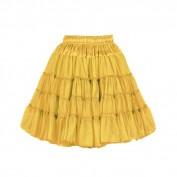 Petticoat luxe Geel 2 laags