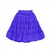 Petticoat de luxe 2 laags blauw