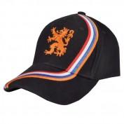cap Holland zwart wave