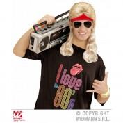 rode haarband met blond haar