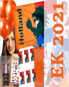 EK2021 oranje artikelen